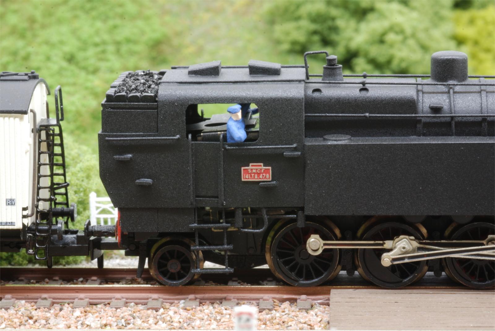 Plaques locomotives