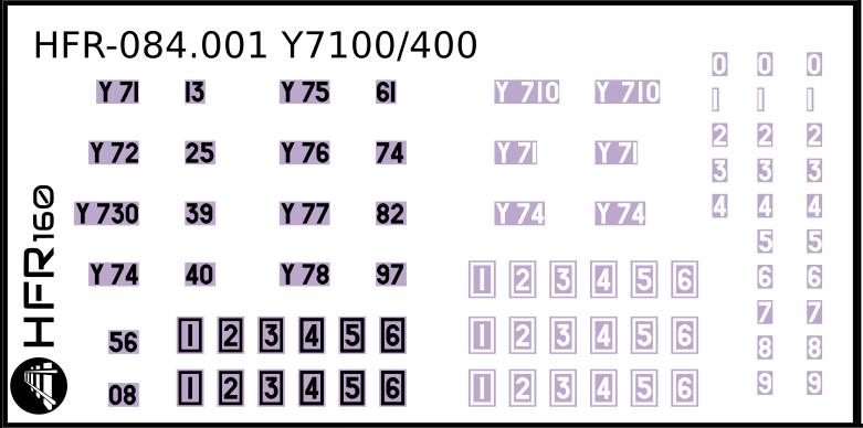 [HFR160] Kit Y7100 Y7400 - Page 2 HFR-084.001