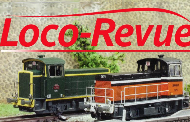 Les kits Y 7400 dans Loco-Revue n°855